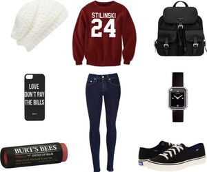 fashion, teenwolf, and outfit image