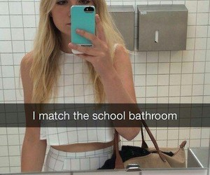 funny, snapchat, and school image