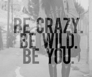 crazy, wild, and you image