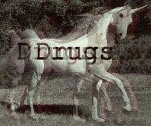 drugs and unicorn image