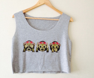 monkey, emoji, and outfit image