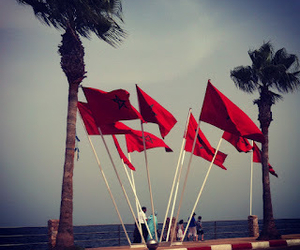 flags and morocco image