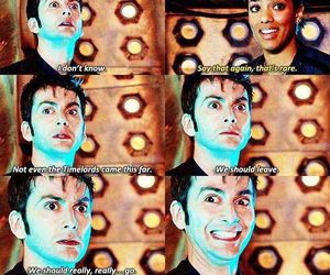 doctor who, adventure, and david tennant image