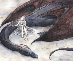 dragon and game of thrones image