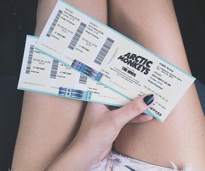 arctic monkeys, tickets, and band image