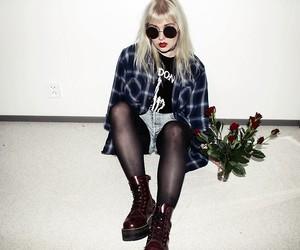 grunge, girl, and alternative image