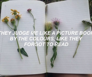 flowers, grunge, and judge image