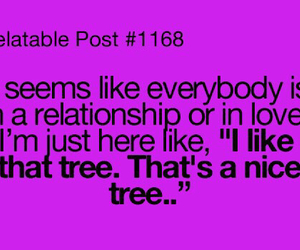 tree, Relationship, and funny image