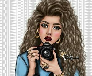 girly_m, drawing, and camera image