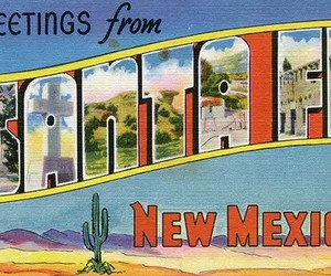 new mexico and santa fe image