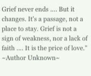 faith, grief, and price image
