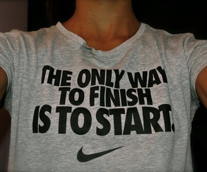 nike, girl, and quote image