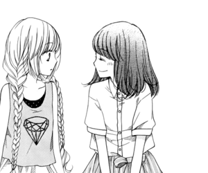 best friends, fashion, and manga image