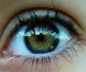 eye, green, and pretty image
