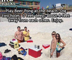 beach, drunk, and funny image