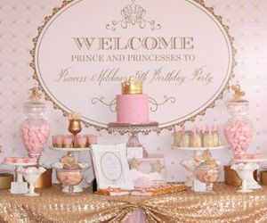 dessert, party, and pink image