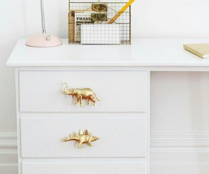 decor, gold, and diy image