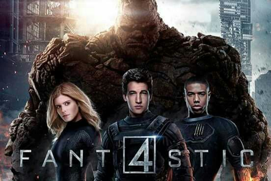 2015, Fantastic Four, and movie image