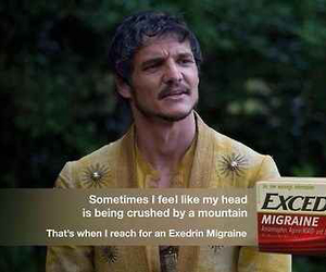 game of thrones, funny, and oberyn martell image