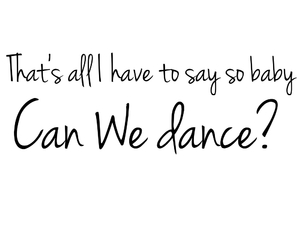 Lyrics, the vamps, and can we dance? image