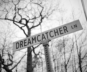 dreamcatcher, Dream, and black and white image