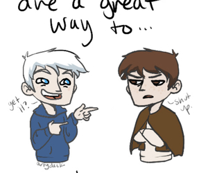 cheesy, funny, and jack frost image