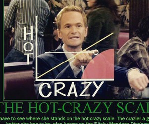 how i met your mother, crazy, and himym image