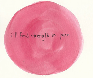 pain and strength image