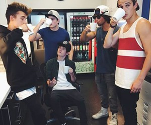 crawford collins, wesley stromberg, and kenny holland image
