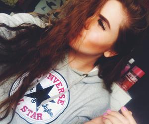 beauty, eyebrows, and tan image