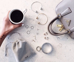 coffee, fashion, and rings image