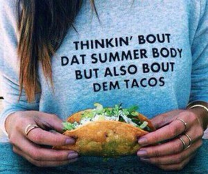 tacos, summer, and food image