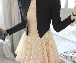 dress, formal, and kfashion image