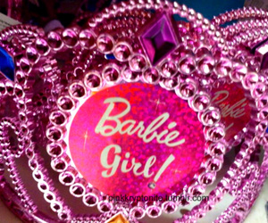 barbie, tiara, and bedazzled image