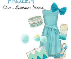 disney, dress, and frozen image