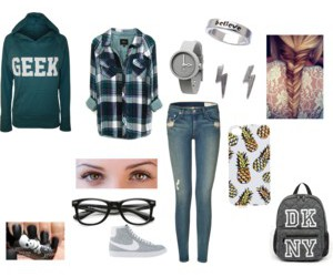 dkny, geek, and pineapple image