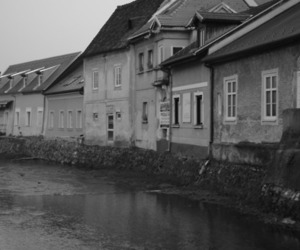 black and white, come back, and Houses image