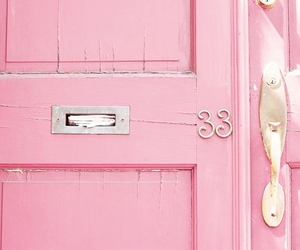 apartment, door, and pastel image