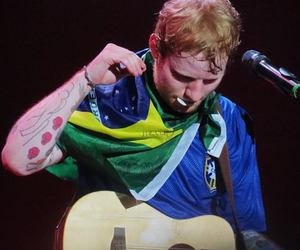 ed sheeran, brasil, and ed image