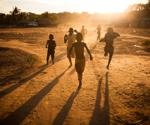 africa, children, and run image