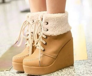 girl, shoes, and boots image