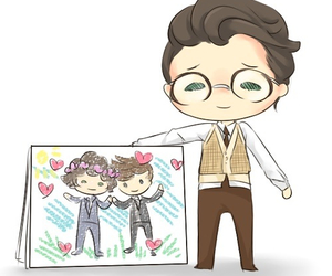 larry, larry stylinson, and marcel image