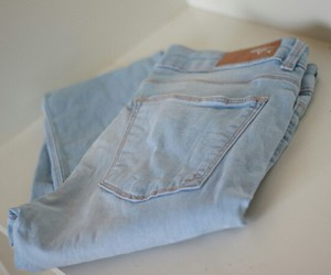 jeans, fashion, and girly image