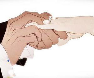ring, anime, and kai image