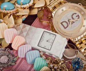 watch, D&G, and jewelry image
