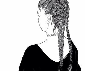 braids, @o.utlins, and choker image