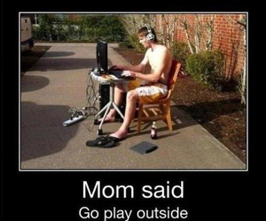 funny, lol, and outside image