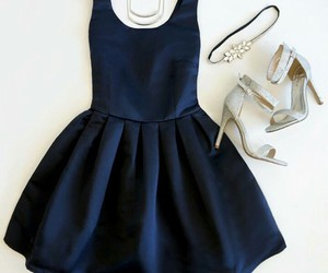 blue, chic, and outfits image