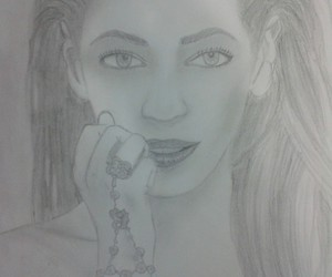 draw, beyoncé, and old image