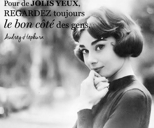 audrey hepburn, francais, and french image